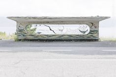 Soviet Bus Stops - Christopher Herwig - Lake Sevan, Armenia - Lazer Horse