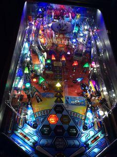Star trek LED Pinball