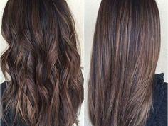 77 nuances de la couleur marron glacé! Les couleurs de cheveux tendances!