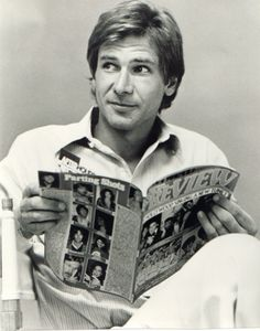 Harrison Ford. You wouldn't think he was a funny guy but he actually has a dry sense of humor. Very dry.