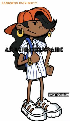 15 Of Your Favorite Black Cartoon Characters Reimagined As HBCU Students - N. 15 Of Your Favorite Black Cartoon Characters Reimagined As HBCU Students - Numbuh Codename: Kids Next Door – Cartoon Halloween Costumes, Black Girl Halloween Costume, Group Halloween, Cartoon Network, Female Cartoon Characters, Cartoon Character Costumes, Black Characters, Fantasy Characters, 2000s Cartoons