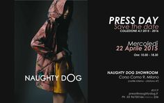 NaughtyDog FW1516 Pressday now live at 9 Corso Como, in Milan!