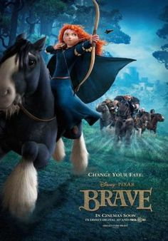 Brave - Merida is a heroine I would like for my daughter