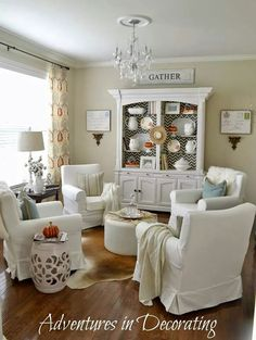 HOME DECOR U2013 IDEAS U2013 Living Room Ideas Chic Decor Makeover, Painted  Furniture