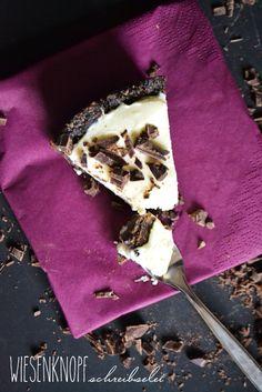 Wiesenknopfschreibselei: Der perfekte No Bake White Chocolate Cheesecake mit Oreokeksen und Plätzchenresten