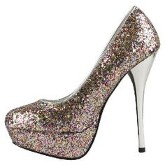 High Heel Glitter Shoes,idk why I like those so much but I super love them