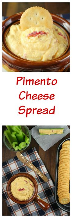 Pimento Cheese Spread Appetizer Recipe for family parties and holiday ...