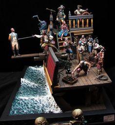 Pirate Ship by Miguel Rebollo Monedero