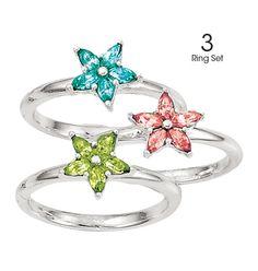 Spring Swing Stackable Rings