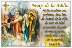 Vidas Santas: Santo Evangelio según san Lucas 2:36