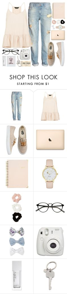 """That these are the days that bind you together, forever"" by alexandra-provenzano ❤ liked on Polyvore featuring H&M, New Look, Vans, Sugar Paper, Kate Spade, Forever 21, Fujifilm, NARS Cosmetics and Paul Smith"