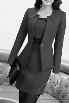 business attire tips Corporate Attire, Business Attire, Business Fashion, Business Suit Women, Suits For Women, Clothes For Women, Work Fashion, Fashion Design, Dress Suits