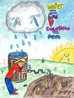50 Ways to save water poster pictures and slogans lines for Water Poster, Poster On, Save Water Pictures, Save Water Drawing, Drawing Themes, Environmental Posters, Ways To Save Water, Poster Drawing, Nature Drawing