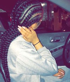 Cornrows Braided hairstyles are a trendy style for the African American women community. Box Braids Hairstyles, Cornrows, Curly Hair Styles, Natural Hair Styles, Hair Laid, Braids For Black Hair, Gorgeous Hair, Hair Looks, Her Hair