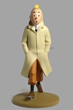 Tintin Trenchcoat Statuette