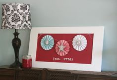 Fourth of July Decor--Mabey She Made It