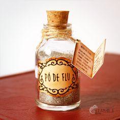 Pó de Flu: Harry Potter está chegando...
