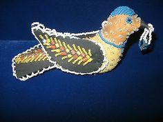 IROQUOIS Beaded Pin Cushion Bird