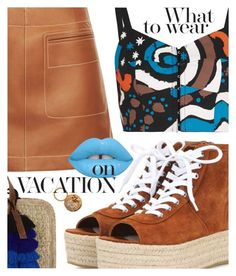 """""""Sneaker Style featuring BlingSense.com"""" by cultofsharon ❤ liked on Polyvore featuring Miu Miu, Loewe, Isa Arfen and Las Bayadas"""