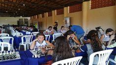 Torneio de xadrez escolar é realizado em Timóteo, em MG 160 alunos de escolas públicas e privadas participaram do evento.