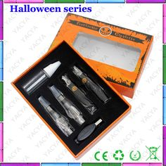 @Jeremy Wade christy to say hello to you!it is our newest Halloween series packing ecig ,beautiful ,attractive,so cool! #Halloween #ecig #ecigs #YACYAecigs #ecigarette #electroniccigarette #7s #protank #G battery#bling#MT3#EVOD#atomizer#vaporizer #drip tip #display shelf,if you like it,pls let me know,my email is mailto:christy.ya.... my skype is christyzch.