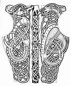 Celtic Sleeve Tattoos, Viking Tattoo Sleeve, Celtic Dragon Tattoos, Tattoo Sleeve Designs, Tattoo Designs Men, Slavic Tattoo, Norse Mythology Tattoo, Norse Tattoo, Armor Tattoo