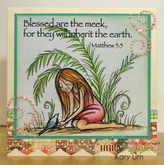 Blessed are the Meek | Unity Stamp Co