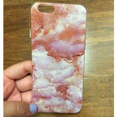 Rose Quartz IPhone 6/6s case Rose Quartz print on soft silicone case. Brand new. Accessories Phone Cases
