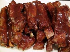 Smack Yo Mama Finger Lickin Grand Marnier Bar-B-Que Pork Ribs | She's Got Flavor