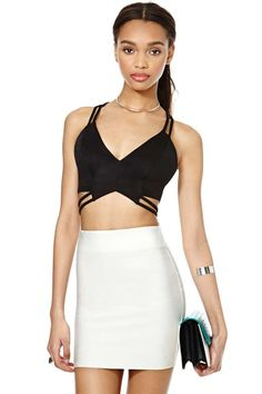 Nasty Gal Hold on Tight Top   Shop Cropped at Nasty Gal