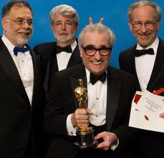 Francis Ford Coppola, George Lucas, Martin Scorcese, Steven Spielberg 2006 Oscars
