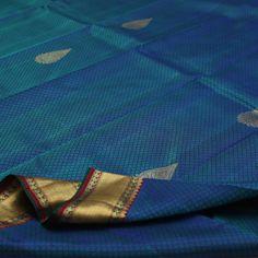 Sarangi Handwoven Kanjivaram Silk Sari - 210126720