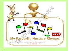Animated Nursary Rhymes part 1 from Effective teaching aids on TeachersNotebook.com (8 pages)