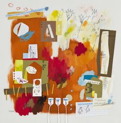 Élise Palardy- love the colours the collage.. yum