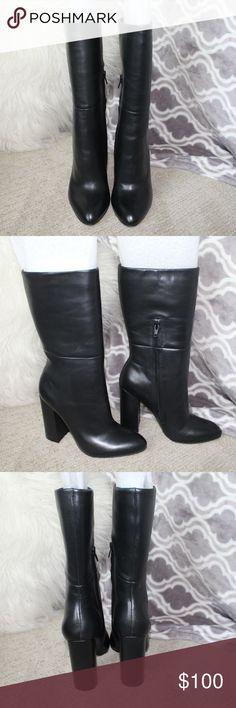 c23b11f7ceba Steve Madden Leather Boots Steve Madden Leather Boots - Brand new