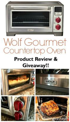 Wolf Gourmet Countertop Oven Product Review & Giveaway - This oven is amazing! #WolfGourmet