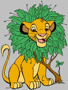 Day 4- fave animal character- SIMBA!!!
