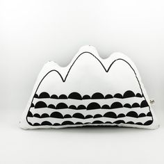 Image of Mountain cushion (half moon detail)