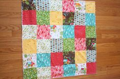 Baby Blanket Woodlands and  Snow White Minky by yellowplumblossoms, $40.00