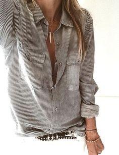 La chemise d'homme, la parfaite chemise XL ! (chemise The Kooples - photo Marine Pelletier)