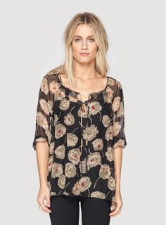 Johnny Was: Loretta Print Blouse