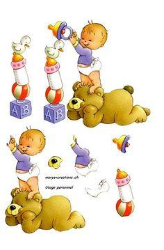 dibujos de bebe