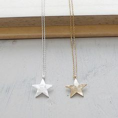 Star Charm Necklace - Lilac Coast - $21.25