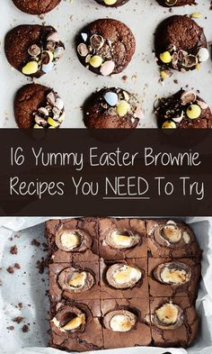 16 Yummy Easter Brownie Recipes You Need To Try