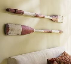 THIS is what I was thinking!  Great tutorial for painting your own oar.