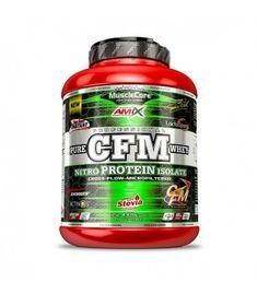 Amix CFM Nitro Protein Isolate | Suero | Proteínas | Nutrición Iso Whey Protein, Whey Protein Isolate, Top Nutrition, Stevia, Food, Whey Protein, Essen, Meals, Yemek