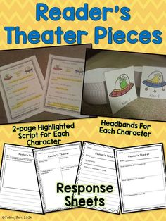 Reader's Theater for the Year - Elementary Nest