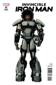 Riri Williams has new armor technology that just might change the face of the Marvel Universe forever... if she survives the experience. The biggest story in comics starts to unfold right here.