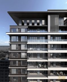 Hotel, which has modern and trending architecture and at the same time it's so luxury too! Building Facade, Building Exterior, Building Design, Facade Architecture, Residential Architecture, Facade Design, Exterior Design, Model House Plan, Residential Complex