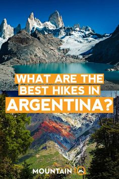 The glaciers and mountains of are legendary among hikers and enthusiasts as the region attracts crowds of travelers every year. Backpacking Peru, Backpacking South America, South America Travel, Visit Argentina, Argentina Travel, South America Destinations, Travel Destinations, Holiday Destinations, Hiking Spots